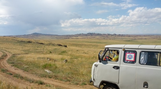 "TAG 4 in der Mongolei – ""Today just bumpy roads!"""