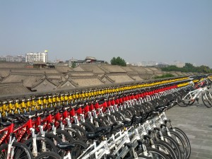 """There are nine million bicycles in Xi'an..."""