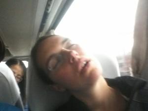 """""""Ich kann in Bussen einfach nicht einschlafen..."""""""