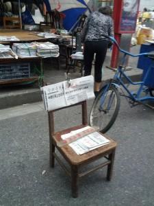 Wieder eine Zeitung in Shanghai besetzt!