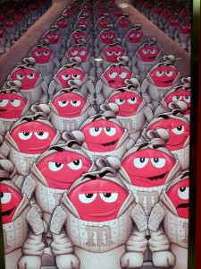 Smartiecotta-Armee von Shanghai - oder: Was muss man alles tun um Schokolade in China zu verkaufen?