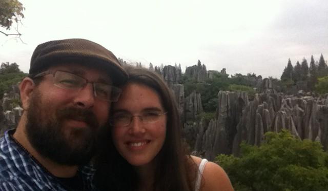 """ShiLin Stone Forest- """"Ich dachte das wären versteinerte Bäume oder so"""""""