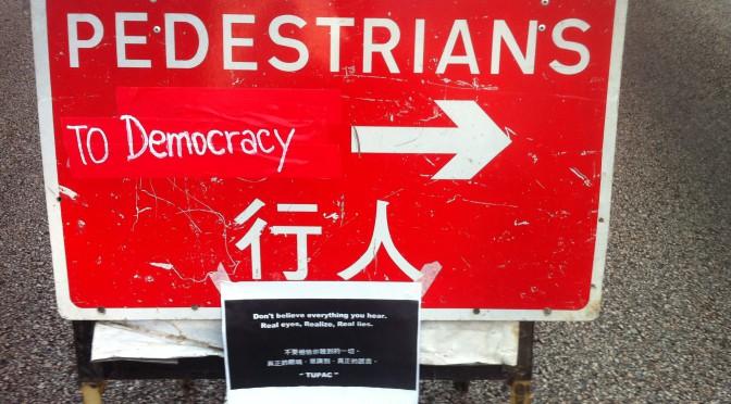 "Umbrella Revolution – ""You can´t kill us all""?"
