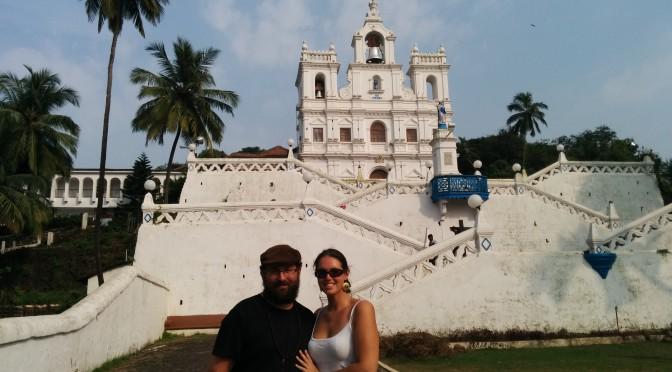 """Panaji – Portugiesische """"Paläste"""" in Goa"""