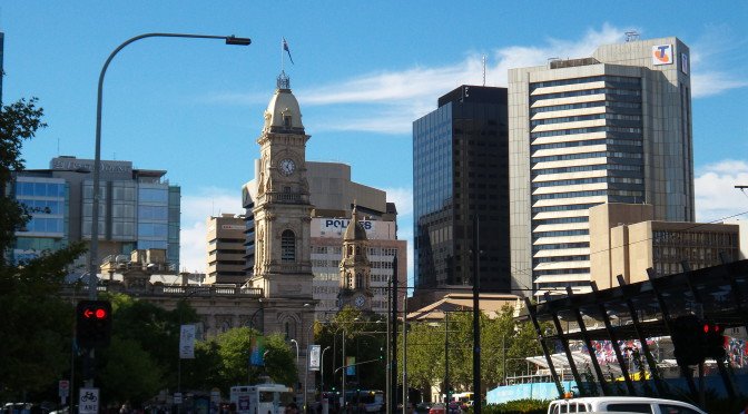 Adelaide – A piercingly beautiful city oder: Adel verpflichtet…