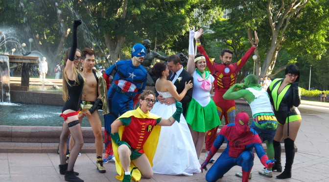 Sydney Teil 2 – Superhelden, straight or queer – Es gibt einfach alles hier!